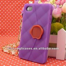Silicone phone case for iphone4/4s