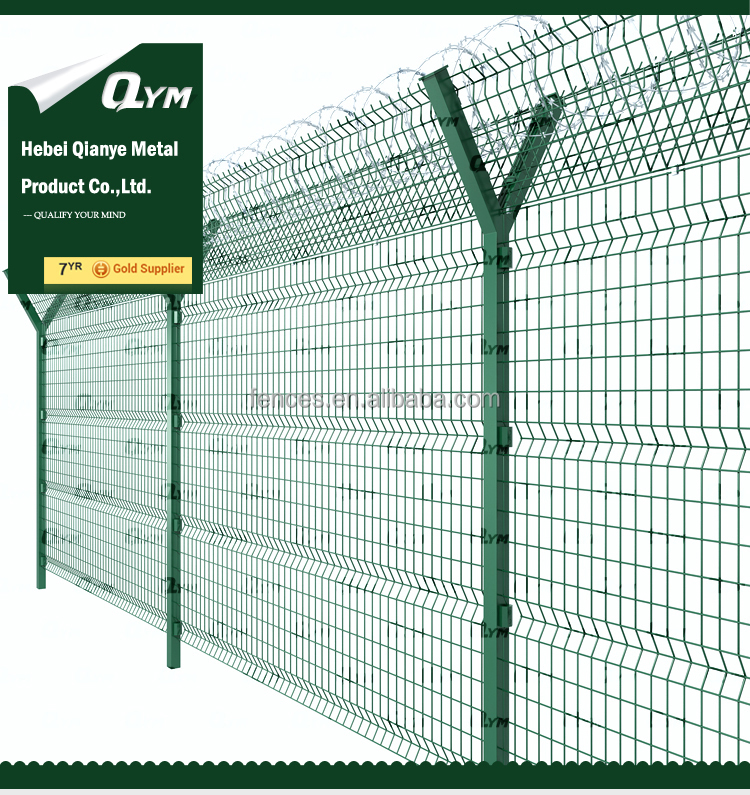Razor Wire Metal Fence for Airport Protection