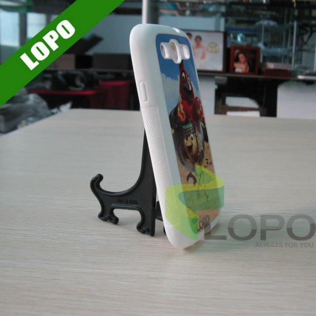 Sublimation Phone Case For Samsung Galaxy S3(Silicon Material)