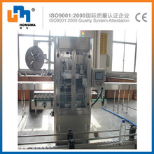SUS304/316 glass bottle label packing machine