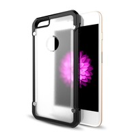 New arrival anti-scratch transparent hard back cover case for apple for iphone 6/6s