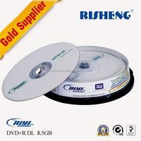 RISENG 8.5GB 8x wholesale blank dvds/ blank dvd-r with printing/ blank dvds for sale