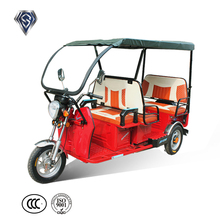 Three wheel solar electric motorcycle 48v battery