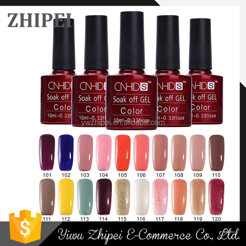 CNHIDS hot selling 132 colors 10ml uv gel gel nail polish