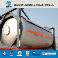 2015 SEFIC 20.8 M3 Stainless Steel T75 Tank Container Liquid Gas Container
