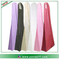 Foldable custom wedding dress garment bag wholesale