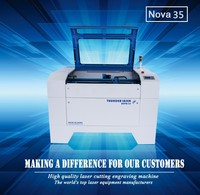 3000 hours stable work 80w water cooling paper plywood glass laser cutting engraving machine