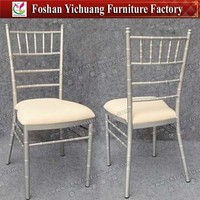 Wholesale Wedding silver bamboo restaurant chairs YC-A18-29