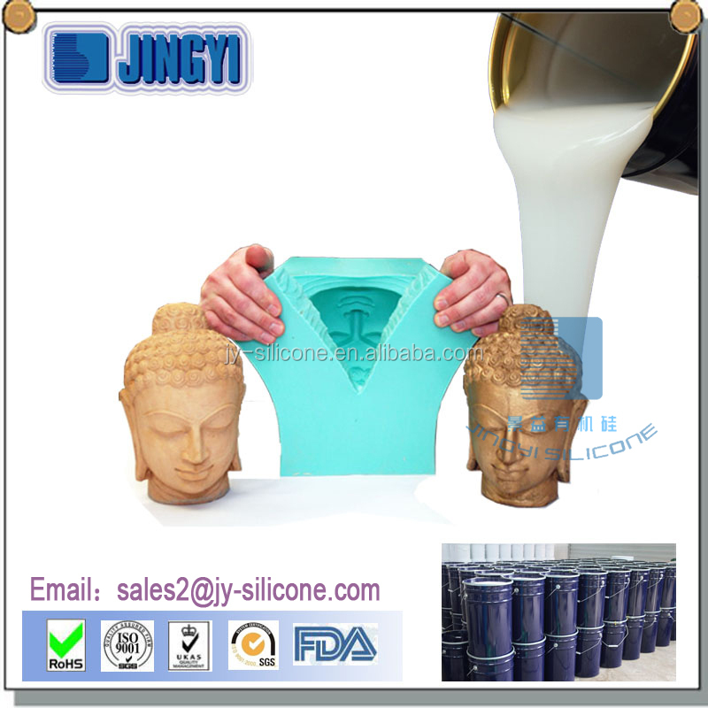 RTV-2 Room temperature cure silicone for plaster statues molds