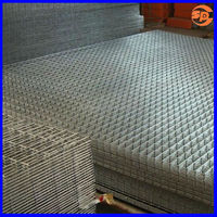 "welded wire mesh SS316 1/4"" mesh for channel fence"