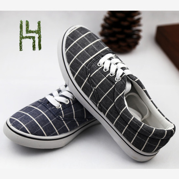 Latest new model cheap casual canvas shoes for men