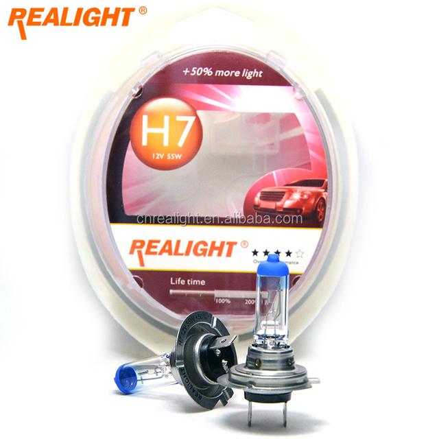 Standard H7 12V 55W 6000K Halogen Xenon Lamp