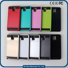 Best Price China Mobile Phone Accessories Various Colors Slim TPU+PC Back Cover Case for Samsung Note3