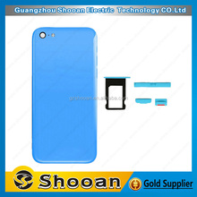 oem cell phone parts housing for iphone 5c repair,back cover for iphone 5c