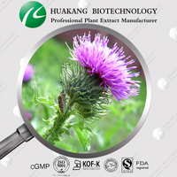 Supply top quality organic Pure Natural milk thistle seed extract silymarin 80% (UV)price