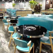 restaurant furniture dinning tables round banquet tables for sale