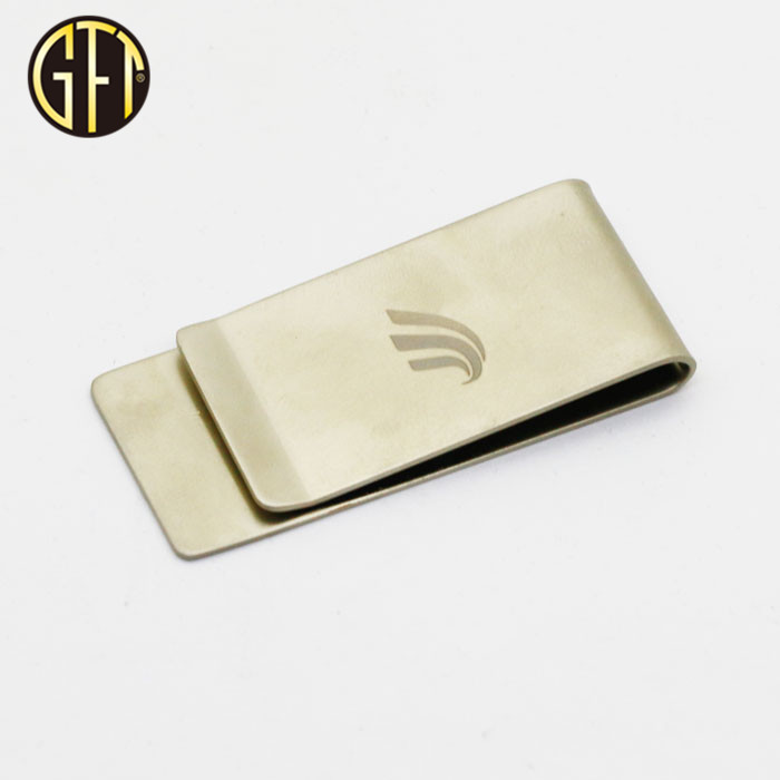 2017 wholesale cool custom Promotional silver money clip