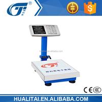 60kg TCS electronic scale platform with stainless steel keypad