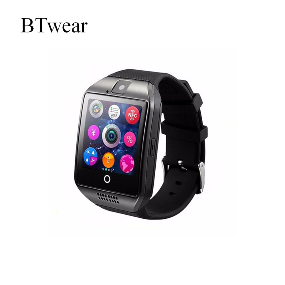 Low Price Bluetooth With Camera And Pedometer Smart Watch <strong>SIM</strong> Q18 Smart Watch