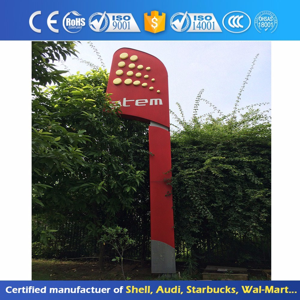 High Quality Led Glow Gasoline Price Sign Board