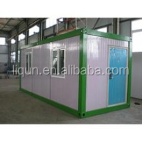 2015 ISO china manufacture wholesale modern ready made container house with bathroom