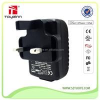 UK EU AU US Universal Black USB 5V 1A Travel Wall power Adapter For iPhone