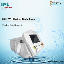 Factory Price 755 808 1064nm Diode Laser Black Gram Glack Skin Removing Machine