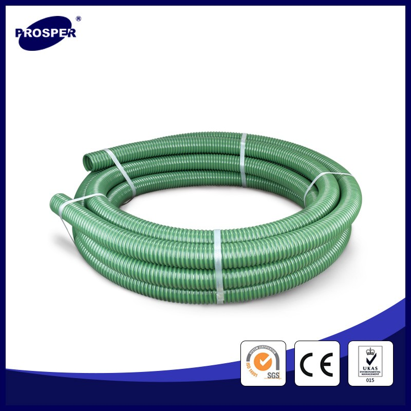 sand pvc suction hose with reinforcement