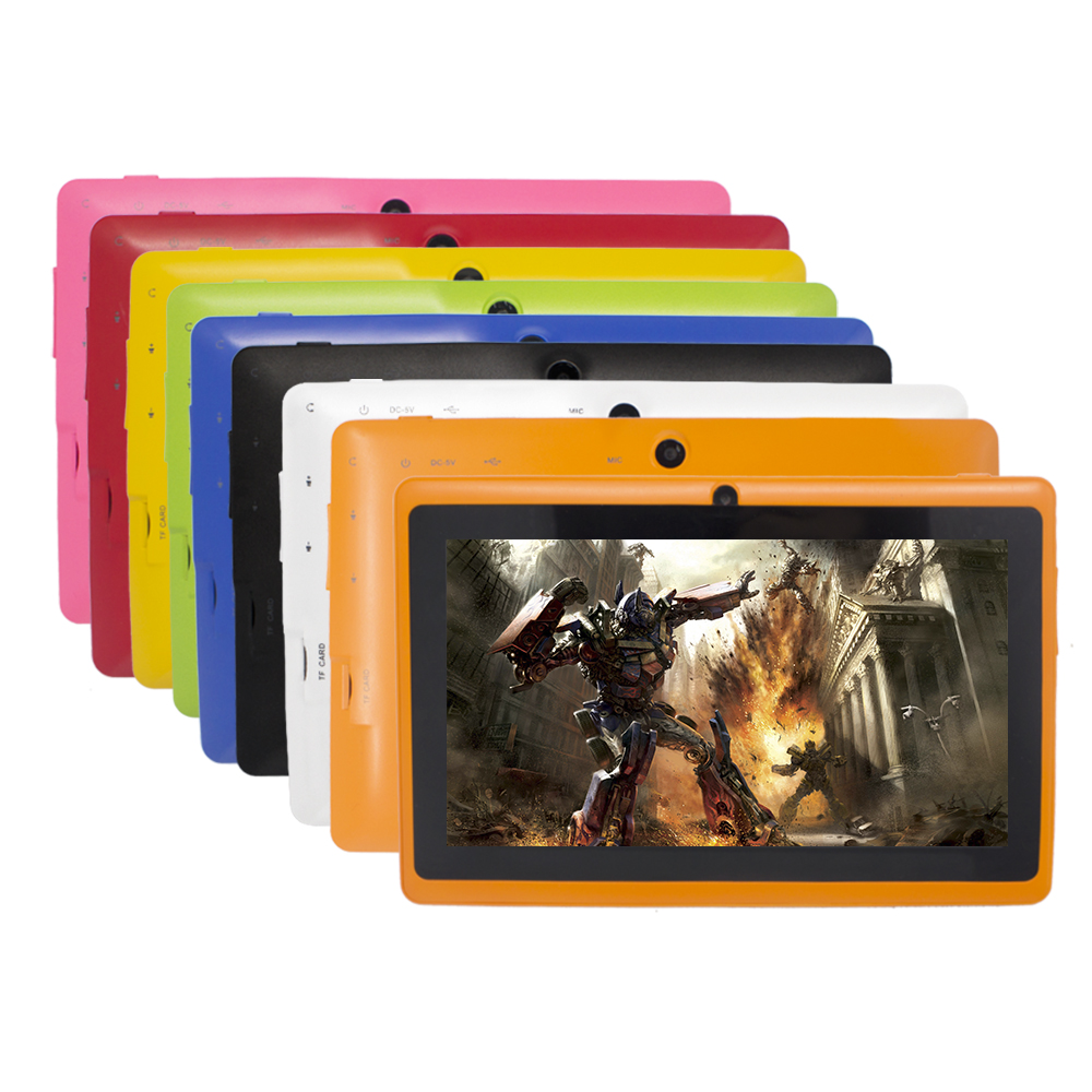 7 inch Q88 android 4.4 mid Quad Core Android WIFI Bluetooth Q88 PC <strong>Tablet</strong>