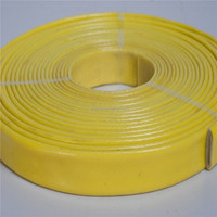 Anti oil and acid Silicone Rubber Coated Glass Fibre fire Sleeve