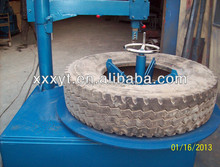 hot selling middle east countries scrap waste used tire cutting machines