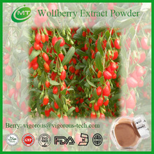 Organic Free Sample Goji Berry Extract Powder