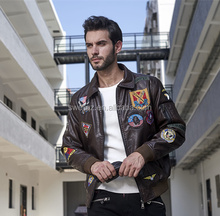 Lastest Fashion Pu Jacket Men Leather Motorcycle Jacket With Cheap Price