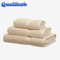 plain design embroidered cotton towel