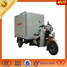 new wheel tricycle/closed cargo box motorcycle