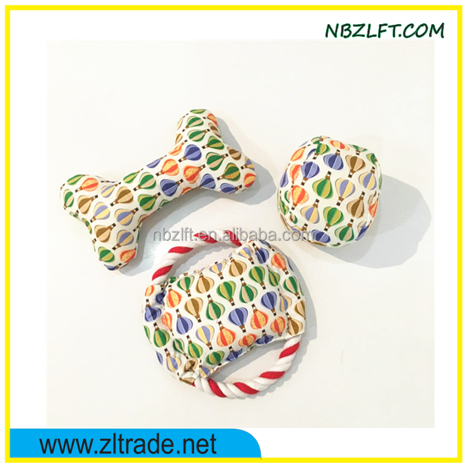 POPULAR HOT-BALLOON PRINTED PET TOY SET / DOG TOY / RUSTLING CAT TOY