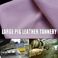 fur factory supply cow leather tannery pig leather on low price