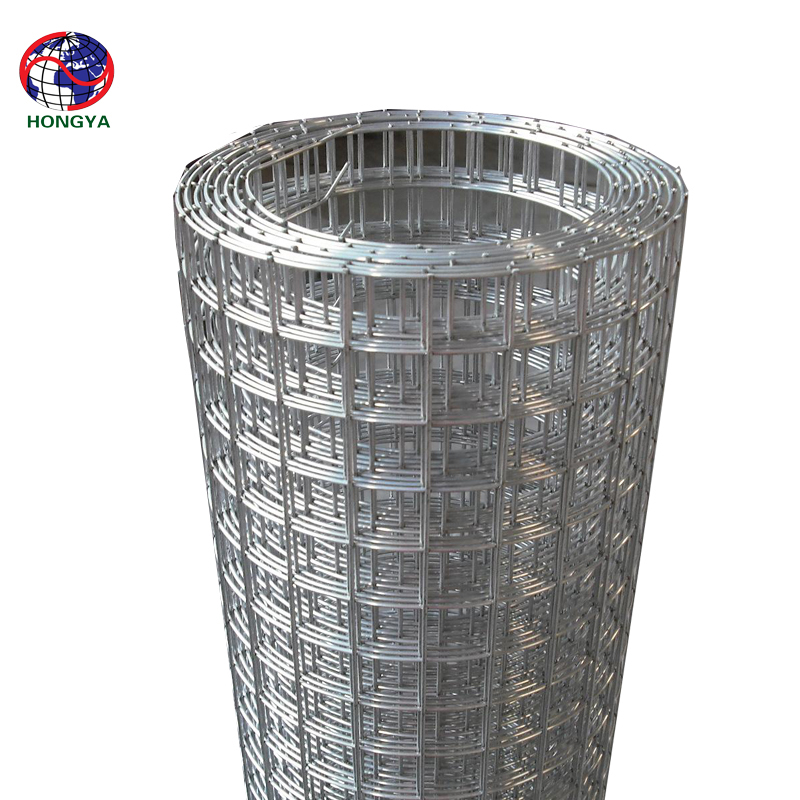 Anping factory direct offer hot-dipped Galvanized welded wire mesh 5*5cm 1.2x30m to Durban/ South Africa