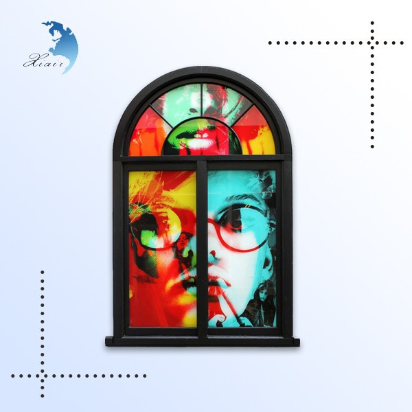 Classic Classical Color Printing Building Decorative Art Glass