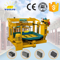 QMY4-30 hydraform cement mobile block making machine