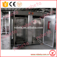Industrial bread baking oven 32 trays professional bakery rotary