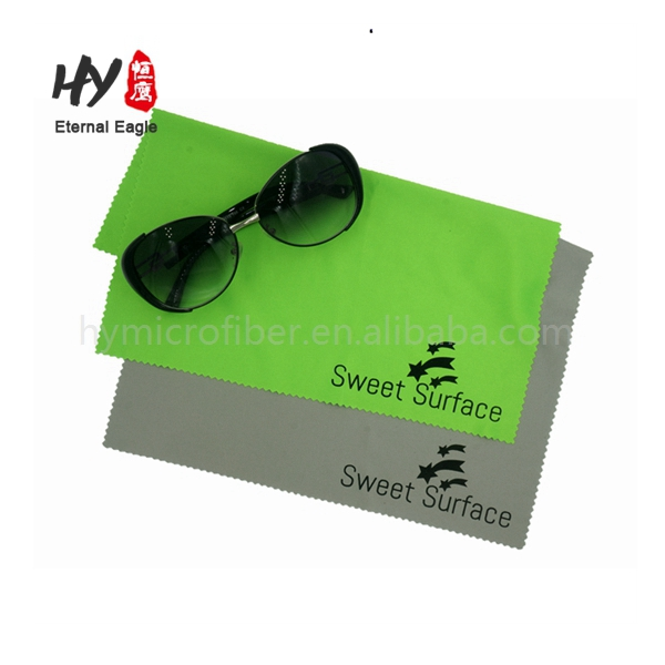 Customized microfiber cleaner, custom printed microfiber cloth, microfiber optical glasses pouches with string