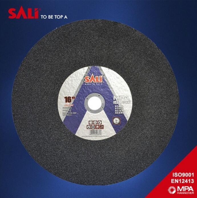 16 inch Abrasive Disc Type flat shape cutting wheel