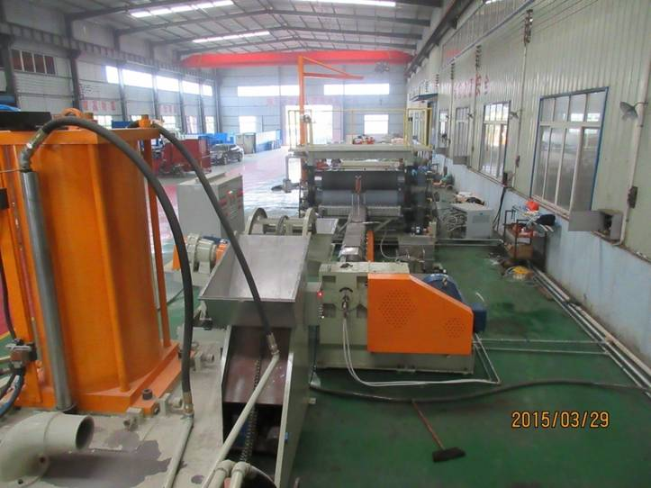 ABS/PE/EVA car interior sheet production line