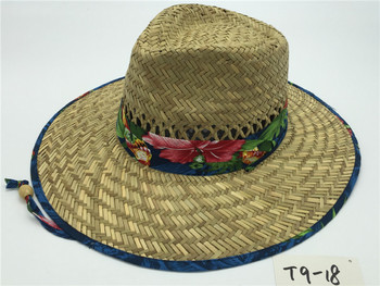 Wholesale New Style Summer Cowboy Paper Straw Hat For Mens