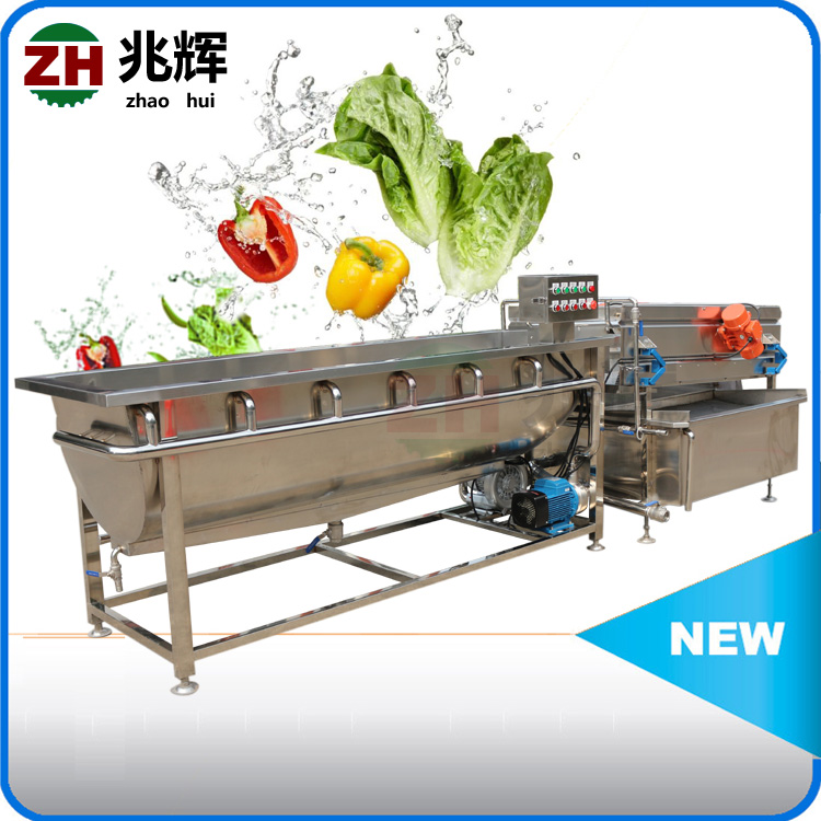 Industrial mango/strawberry/blueberry/sweet corn washing production line fruit & vegetable processing machine