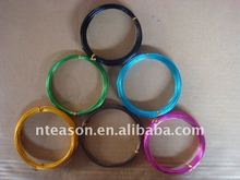 color aluminium wire