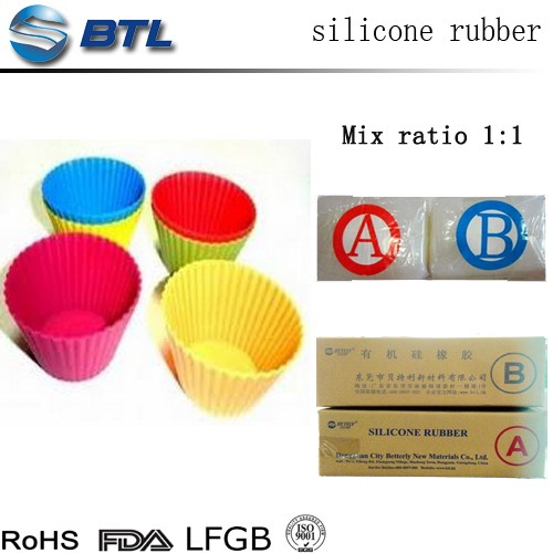 Prices of food-grade unvulcanized silicone rubber mold compound for kitchen applications