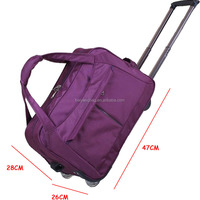 Fashion Convinient Waterproof Polyester Luggage Travel