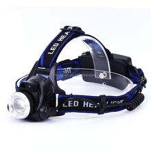 Waterproof Adjustable Focus Head Light Rechargeable Outdoor XML-T6 Bulb 1200 Lumens LED Headlamp